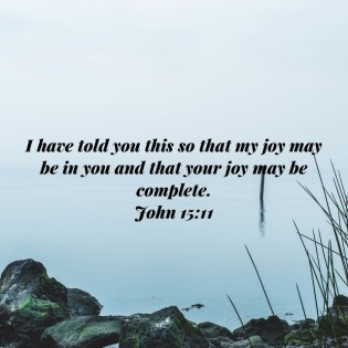 John 15:11; fruits of the spirit