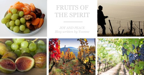Blog by Yvonne; Fruits of the Spirit; Love; Peace;