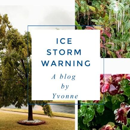Ice Storm Warning
