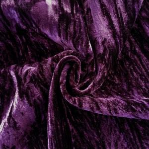 Crushed Velvet Purple