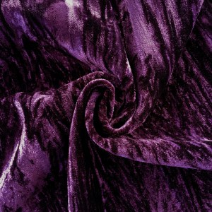 Crushed Velvet Purple