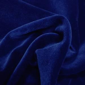Pipe Pocket Presidential Blue Velour Presidential Blue Velvet Sample Swatch For Turn of Events Rental Drapery Las Vegas