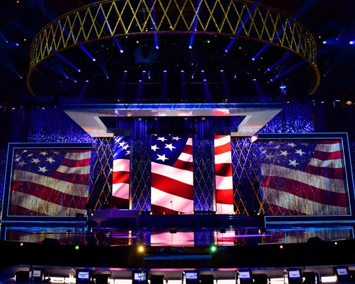Turn of Events Las Vegas Mylar Decor Panels For Miss America