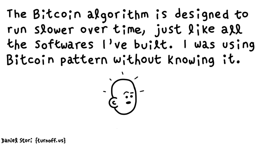 the bitcoin design pattern