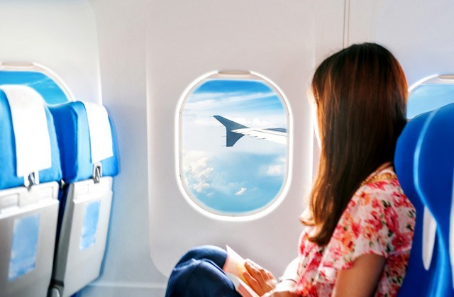 Image result for window seats on a plane