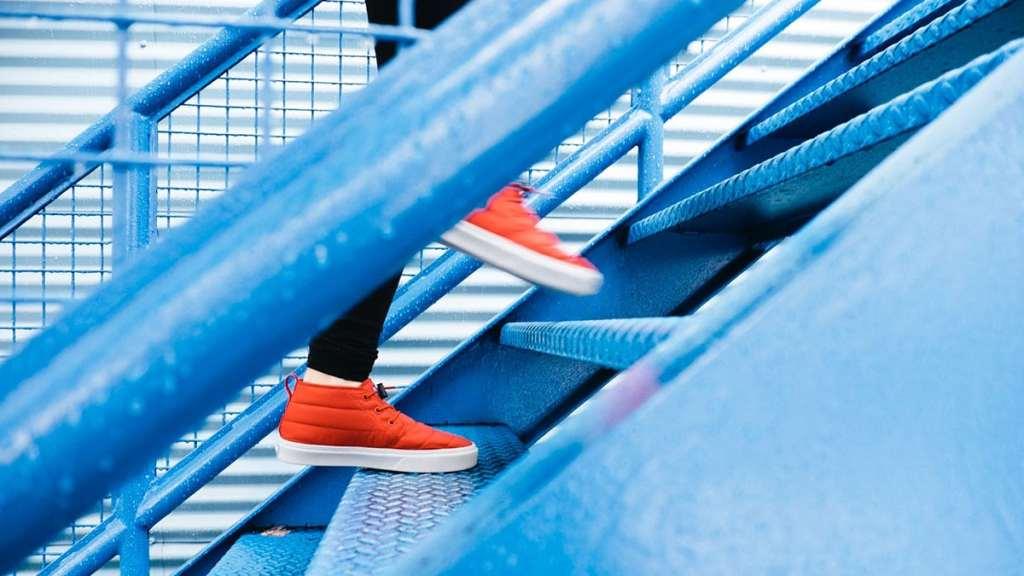 Climbing Steps, progress over perfection