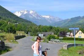 Out on a little bike ride in the mountains