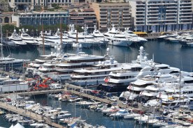 The harbour at Monaco