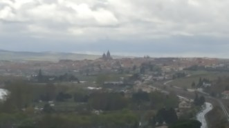 Salamanca in the distance