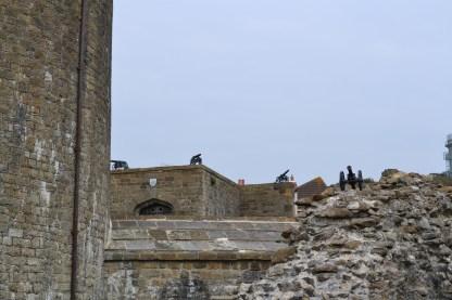 Sandgate Castle from the Promenade