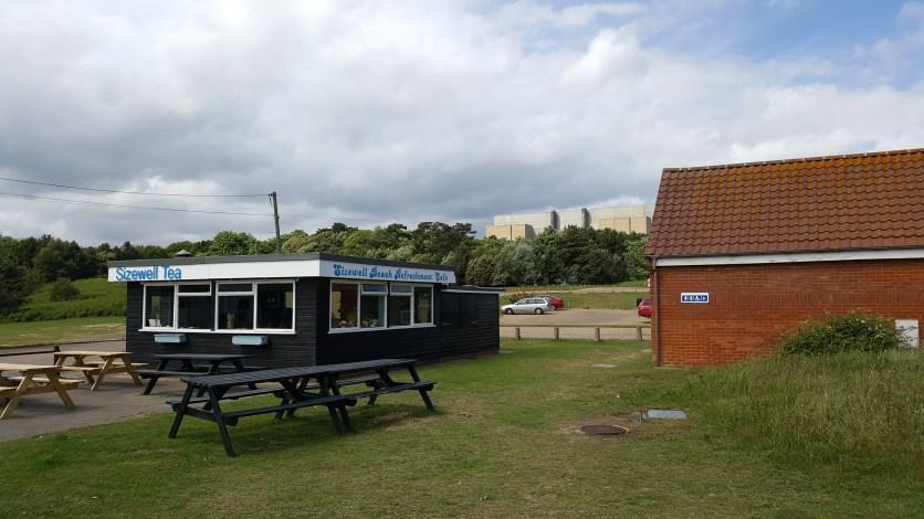Sizewell beach tearooms