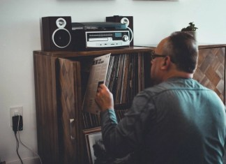 All-in-one record player