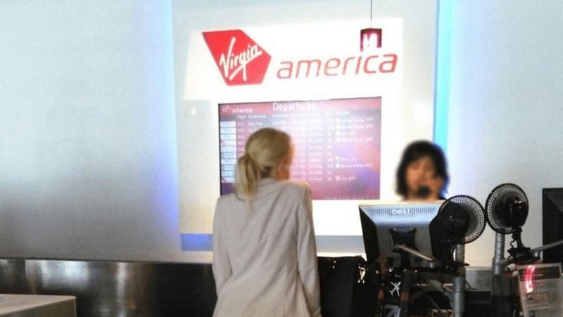 Woman rocks up at airport in just her underwear