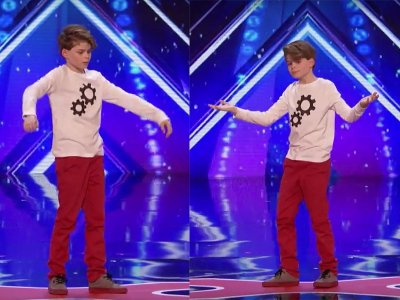 Youngster's emotional 'broken robot' dance wows judges!