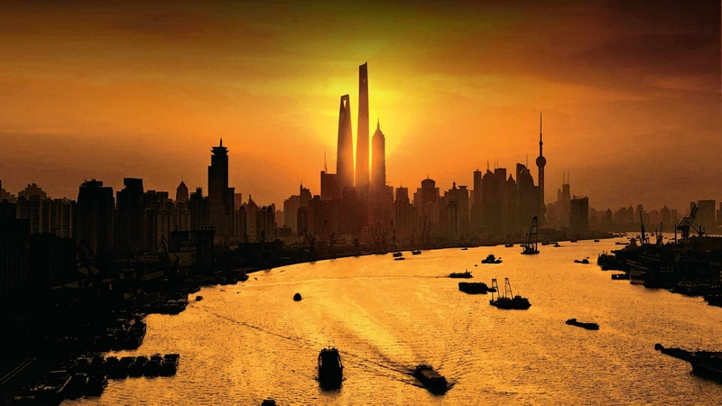 Shanghai Tower, Tallest Building In China, Completes