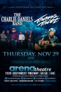 NOV 29, 2018; THU – THE CHARLIE DANIELS BAND & TRAVIS TRITT