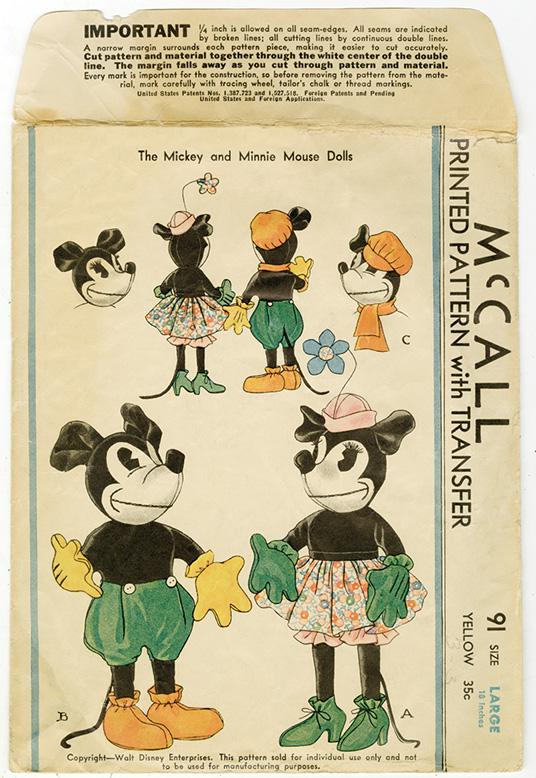 vintage valuable Disney plush stuffed Mickey Mouse Doll