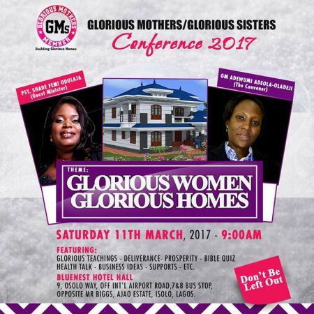 Glorious Mothers/Sisters' Conference 2017