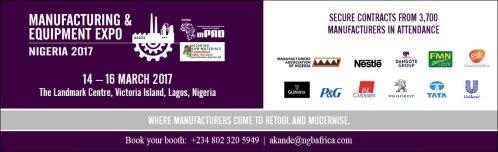 Nigeria Manufacturing & Equipment Expo