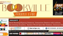 Bookville August Fair (BAF-2017)