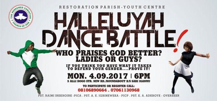 Halleluyah Dance Battle