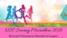 NSC Sewing Marathon for Charity 2018