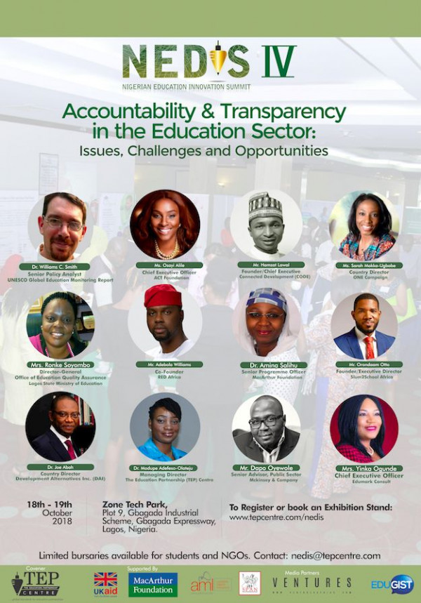 Nigerian Education Innovation Summit (NEDIS)' Annual Education Summit