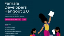 Female developers Hangout 2.0