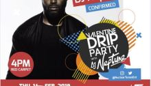 Valentine Drip Party with Dj Neptunes