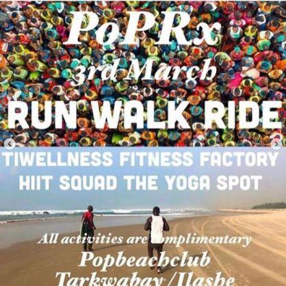 Run, Walk, Ride