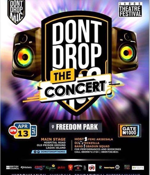 Dont Drop The Mic Concert