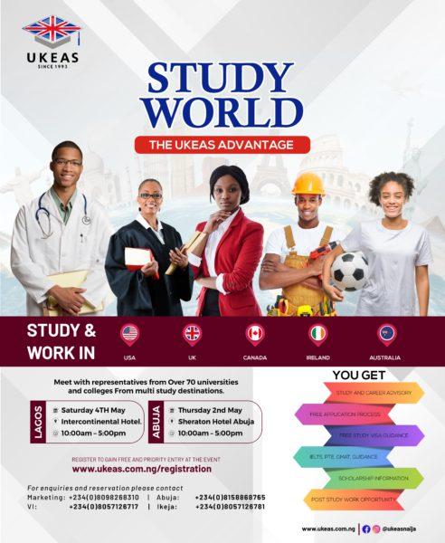04 May 2019, UKEAS Study World Exhibition | TurnupLagos