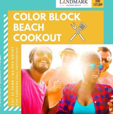 Colour Block Beach Cookout