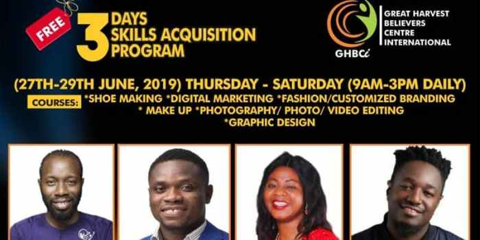 Greatharvest skill acquisition programme