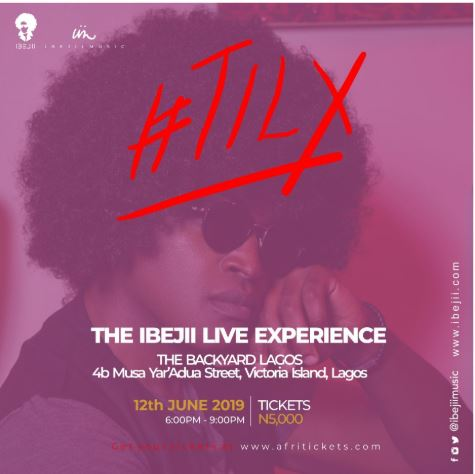The Ibejii Live Experience