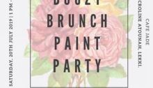 Boozy Brunch Paint Party