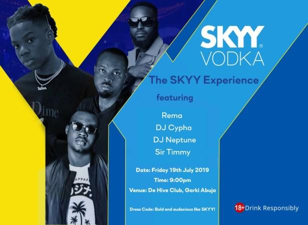 The Skyy Experience
