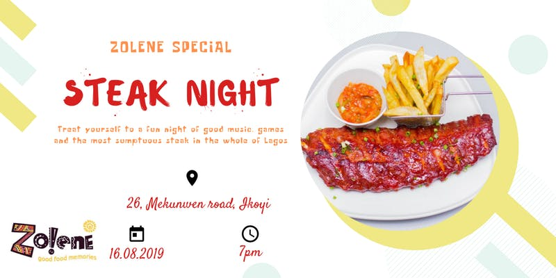 Zolene Special Steak Night