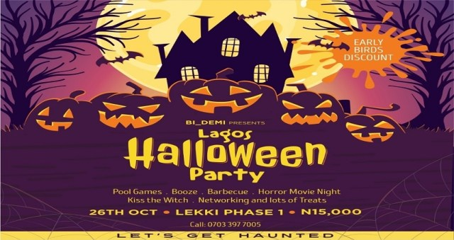 Lagos Halloween Party