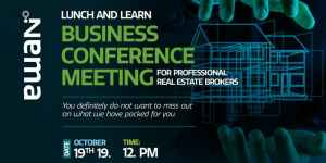 Lunch and Learn Business Conference Meeting