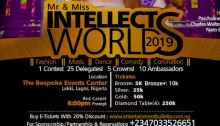 Mr and Miss Intellects World 2019