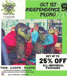 Paintball Independence Day Promo