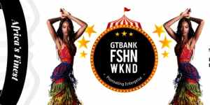 2019 GTBank Fashion Weekend