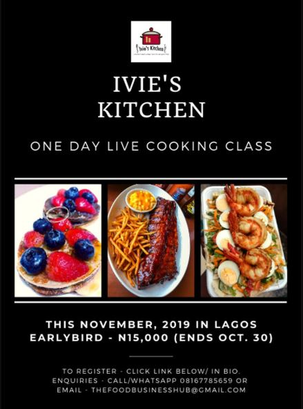 A 1-Day Live Cooking Class