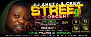 DJ Aketz & Crew Street Concert