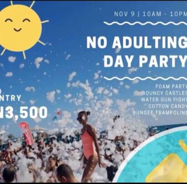 No Adulting Day Party