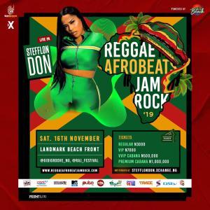 Reggae Afrobeat Jamrock '19