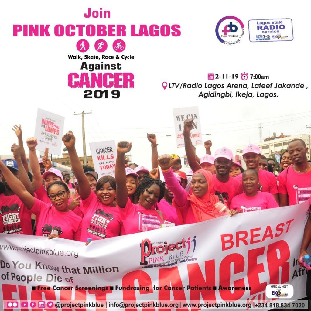 The Pink October Walk, Race & Cycle Against Cancer