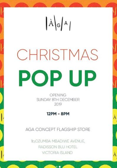 Christmas Pop Up