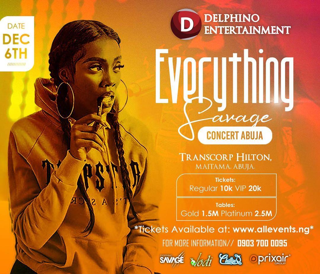Everything Savage Concert